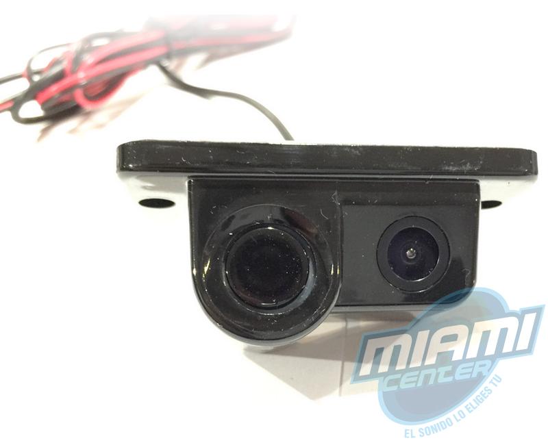 Camara sensor de retroceso 2 en 1