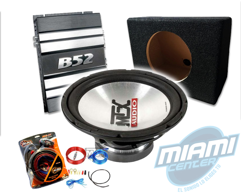 Combos Subwoofers + Amplificador