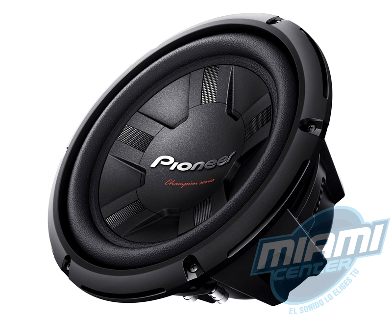 Subwoofer - Pioneer TS-W261D4 01