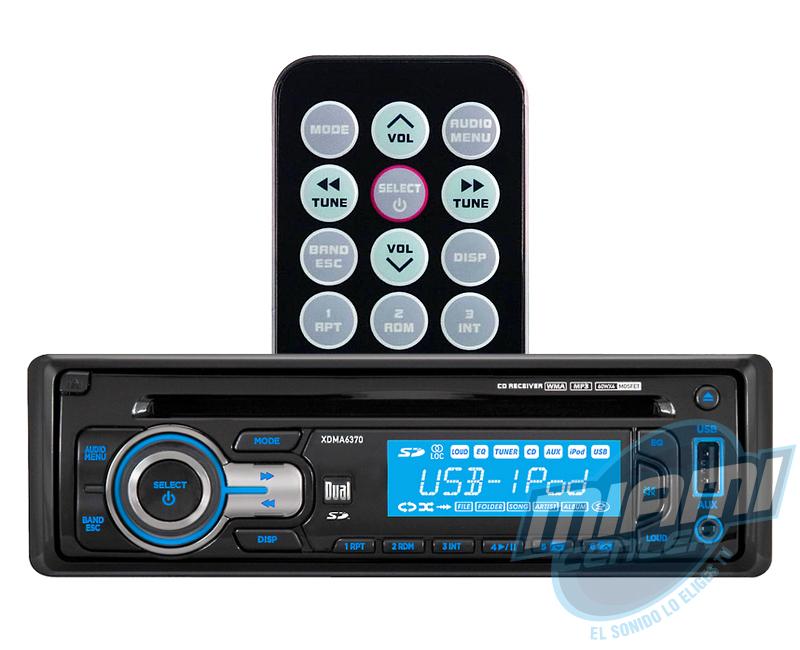 Radio Dual XDMA6370 - 001