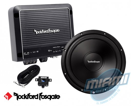 Combo Subwoofer Amplificador Rockford RF-7