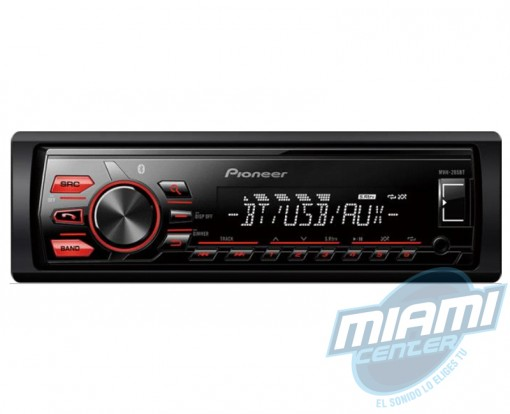 Pioneer MXT-286BT + Parlantes